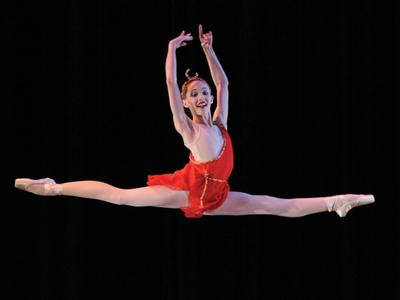 Any tips on how I can learn to leap like Juliet Doherty?