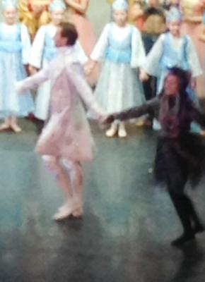 Dancing with the Russian Ballet (me and the Mouse King)