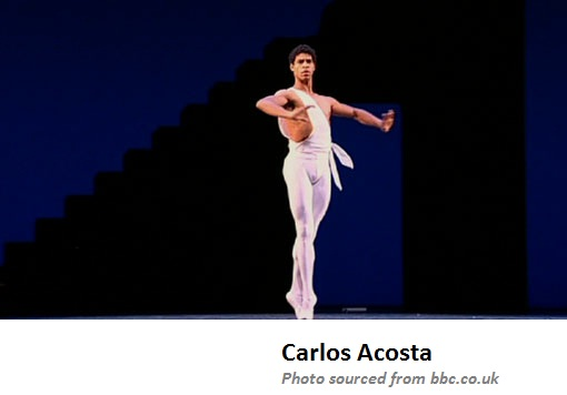 Cuban dancer, born in 1973, and recognized as a global star in ballet