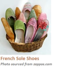 French Sole Shoes