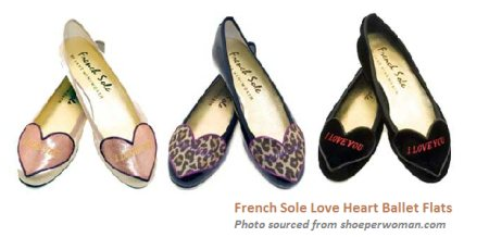 French Sole | Gold and Silver Ballerinas | Large Size Designer Shoe - French Sole FS