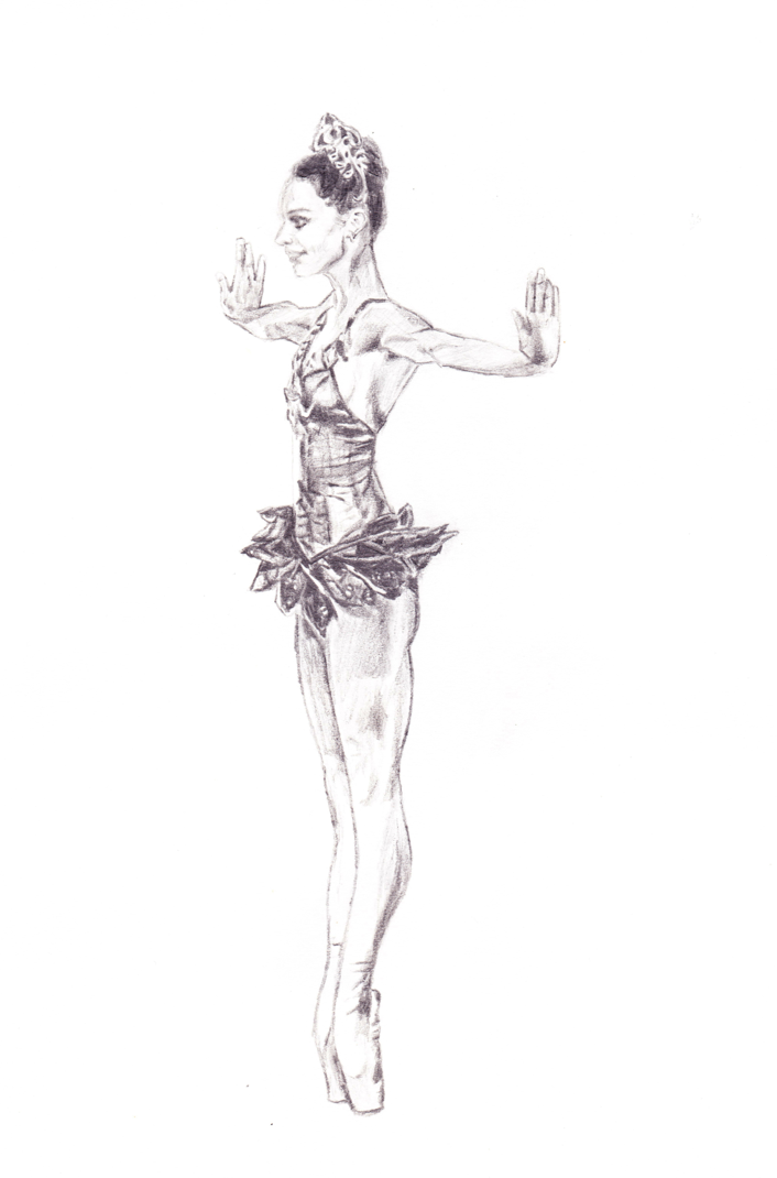 Ballerina Clipart - The Story behind the Paintings