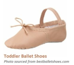 toddler ballet shoes